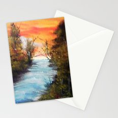 Lazy River Stationery Cards