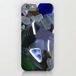Sea Glass Assortment 4 iPhone Case