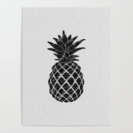 Pineapple Marble Poster