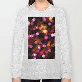 Fireworks Pink (Color) Long Sleeve T-shirt