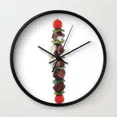 She Kebob Wall Clock
