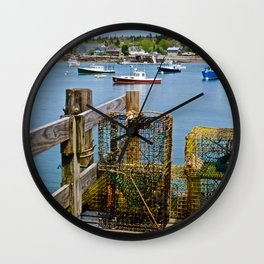 Bernard Harbor 2 Wall Clock