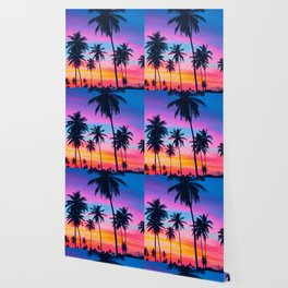 Tropical palms Wallpaper