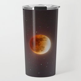 Lunar Eclipse Blood Moon Travel Mug