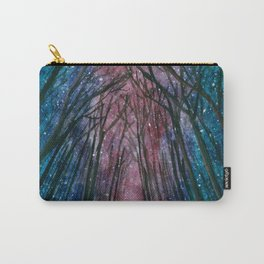 Starlit forest Carry-All Pouch