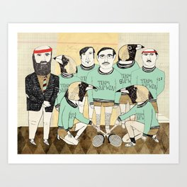 Team Darwin Art Print