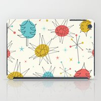 mid century iPad Cases featuring Mid-Century Holiday Season by There is no spoon