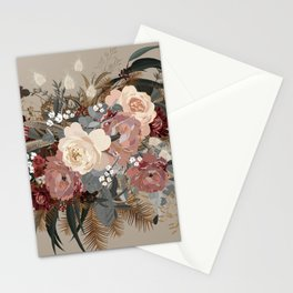 Brielle Coffee Stationery Cards