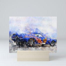 Jim Liberman, Jungle Jim Mini Art Print