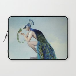 Secrets And Feathers Laptop Sleeve