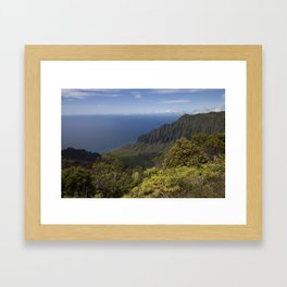 What a view Framed Art Print