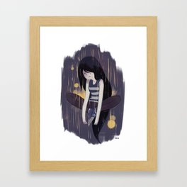 Marceline the Vampire Queen Framed Art Print