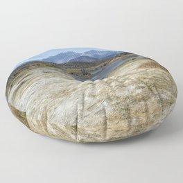 Mono Lake Tufa, No. 4 Floor Pillow