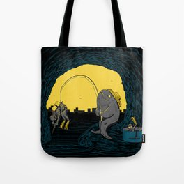 Fisher Fish Tote Bag