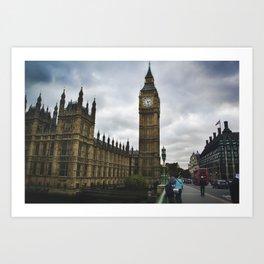 Big Ben London Art Print