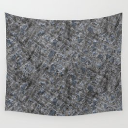 Dirty Rough Gouged Concrete Wall Tapestry