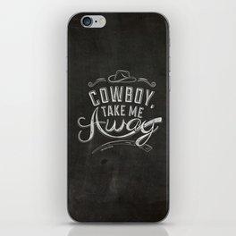 LYRICS - Cowboy iPhone Skin