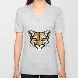 puma concolor couguar T-shirt, puma concolor, Funny Husband Shirt,Funny Wife Shirt,Shirts For Mom,Fu Unisex V-Neck