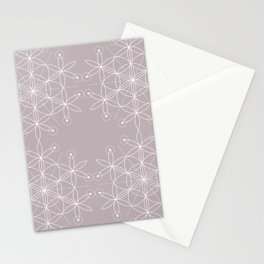 Annas Song Geometric Floral Stationery Cards