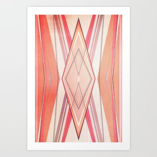 Money Pattern Respect Art Print