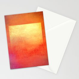 Square Composition Stationery Cards