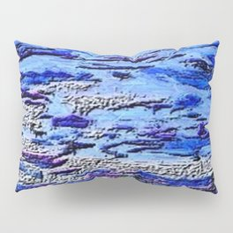 Blue Dream Abstract Painting  Pillow Sham