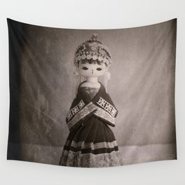Chinese Vintage Doll Wall Tapestry