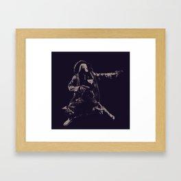 The Shoot Out Framed Art Print
