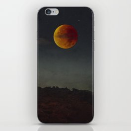 Blood Moon Rising iPhone Skin