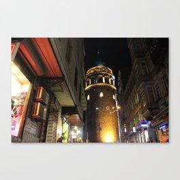 Galata Tower , Istanbul/TURKEY Canvas Print