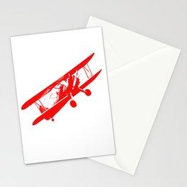 vintage aeroplane decoration Stationery Cards