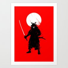 Ghost Samurai Art Print