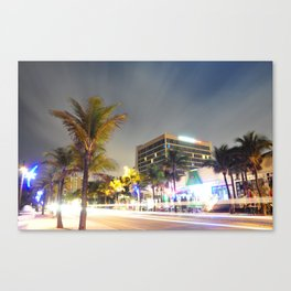Las Olas Beach  Canvas Print