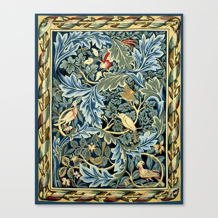 "William Morris ""Birds and Acanthus"" Leinwanddruck"