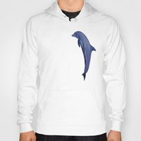 dolphins Hoodies featuring dolphins by ARTito