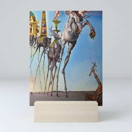 The Temptation of St. Anthony Salvador Dali Mini Art Print