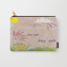 Indian Snail Carry-All Pouch