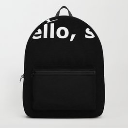 Closer quote Backpack