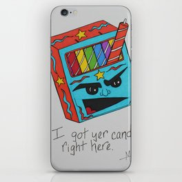 I Got Yer Candle Right Here iPhone Skin