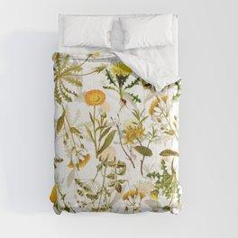 Vintage & Shabby Chic - Yellow Wildflowers Comforters