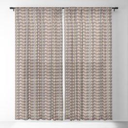 Steve Buscemi's Eyes Tiled Sheer Curtain