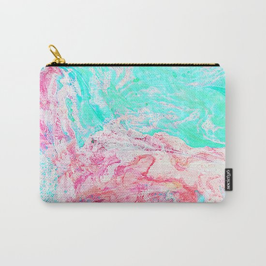 Paper Marble #society6 #decor #buyart Carry-All Pouch