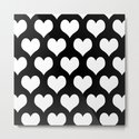 Hearts of Love Black & White by beautifulhomes