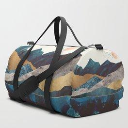 Blue Mountain Reflection Duffle Bag