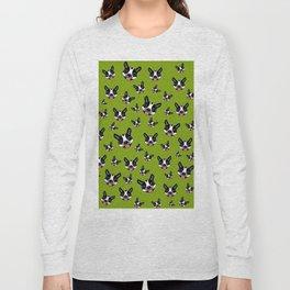 Milo The Boston Terrier #2 Long Sleeve T-shirt