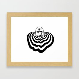 Ripples #1 Framed Art Print