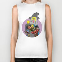 elmo Biker Tanks featuring Can you tell me how to get to Erebor? by Mhyin