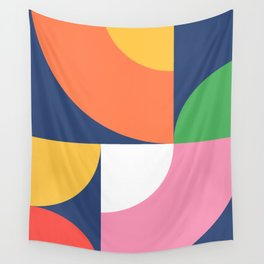 Abstract Geometric 17 Wall Tapestry
