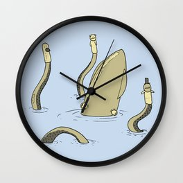 Squid Puppeteer Wall Clock