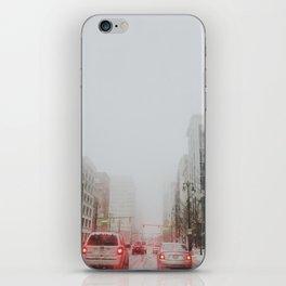 Detroit's gone missing iPhone Skin